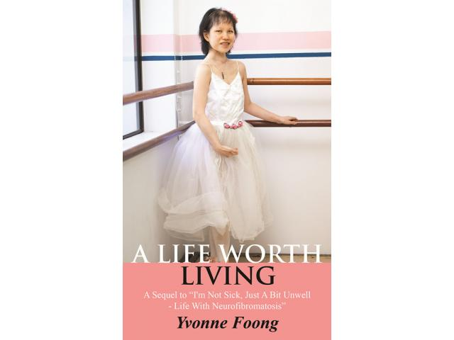 HELP: Inspiring Speaker & Writer, Yvonne Foong diagnosed with Neurofibromatosis (NF).